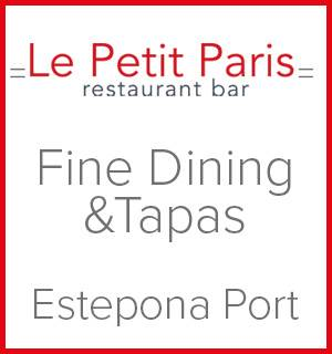 Le Petit Paris in Estepona