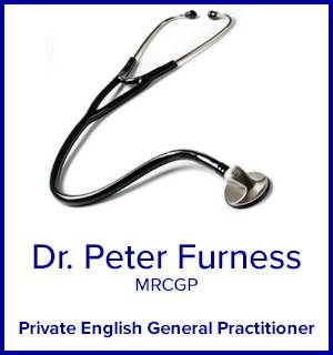 Dr. Peter Furness MRCGP Private English General Practitioner