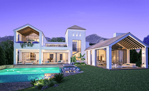 New villas for sale on the Costa del Sol