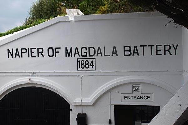 Napier of Magdala Battery