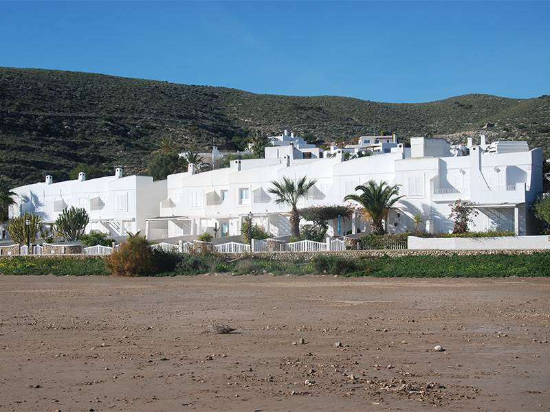 Holiday apartments at Agua Amarga