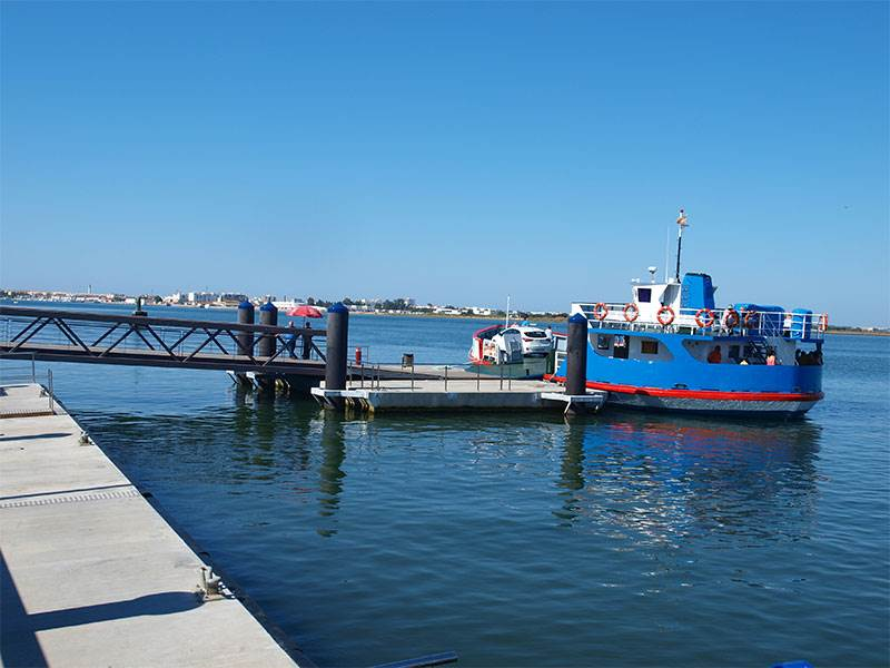 Ferry 'cross the Guadiana