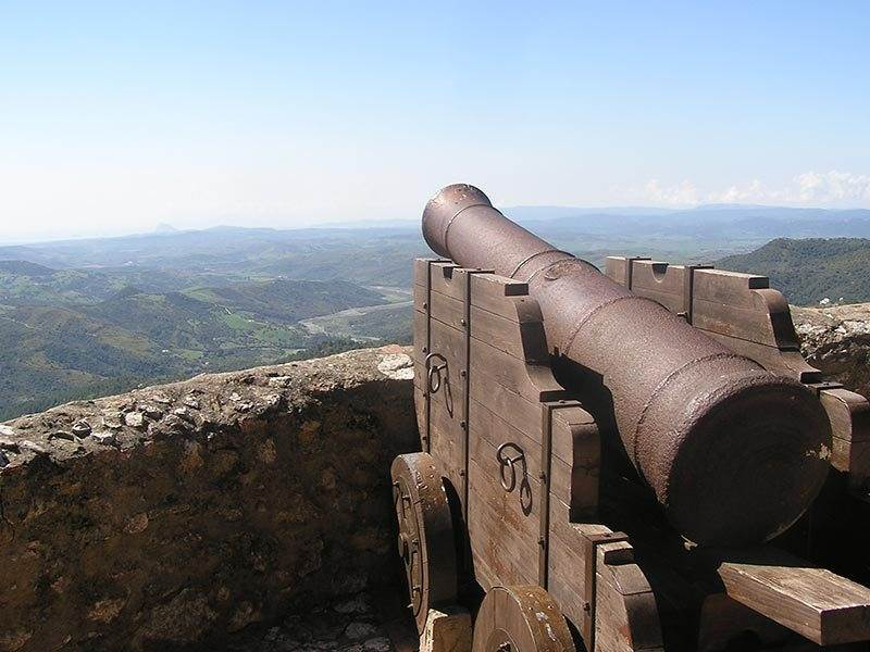 The Cannon Facing Gibraltar