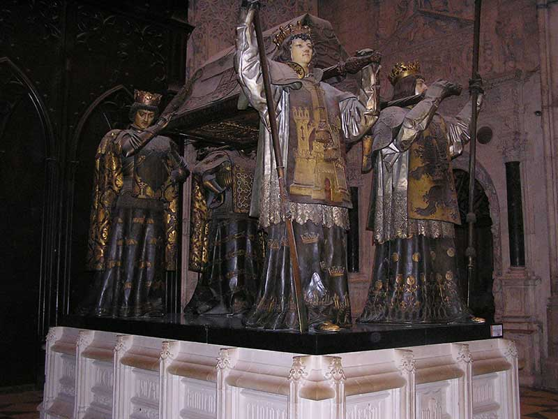 Catafalque at Seville