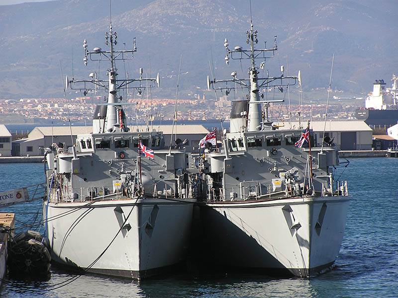 The Royal Navy at Gibraltar
