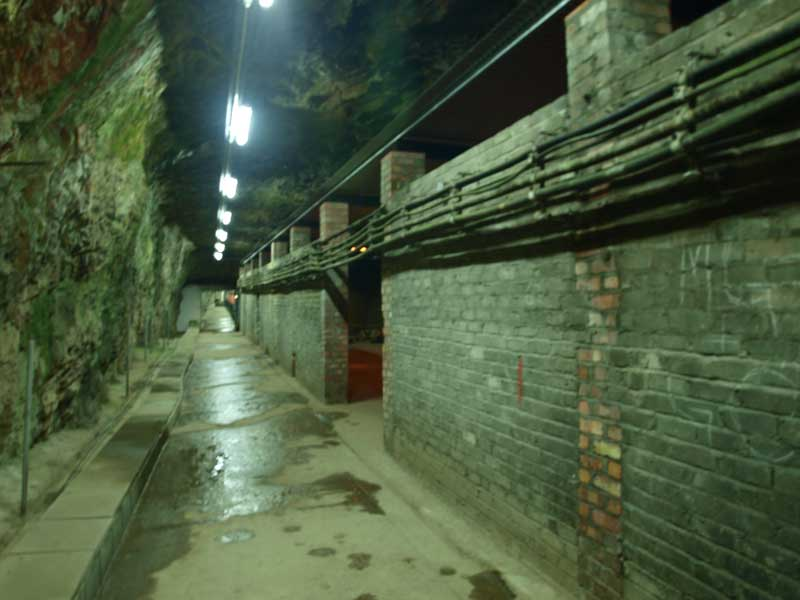 Extended Tunnels – Storerooms built during WW2