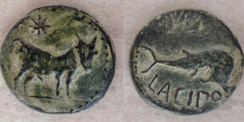 Roman coins minted at Lacipo