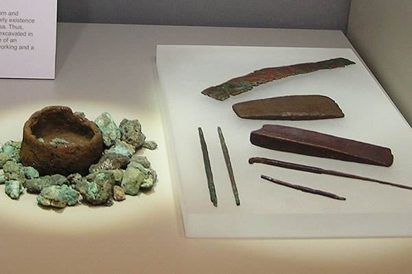 Copper Ore and Copper Tools (Almeria Archaeological Museum)