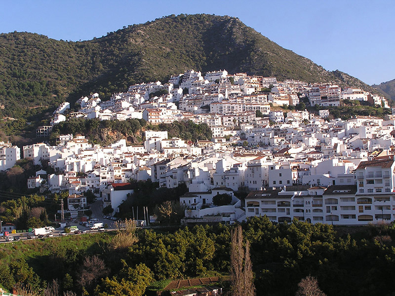 Cities in Andalucia