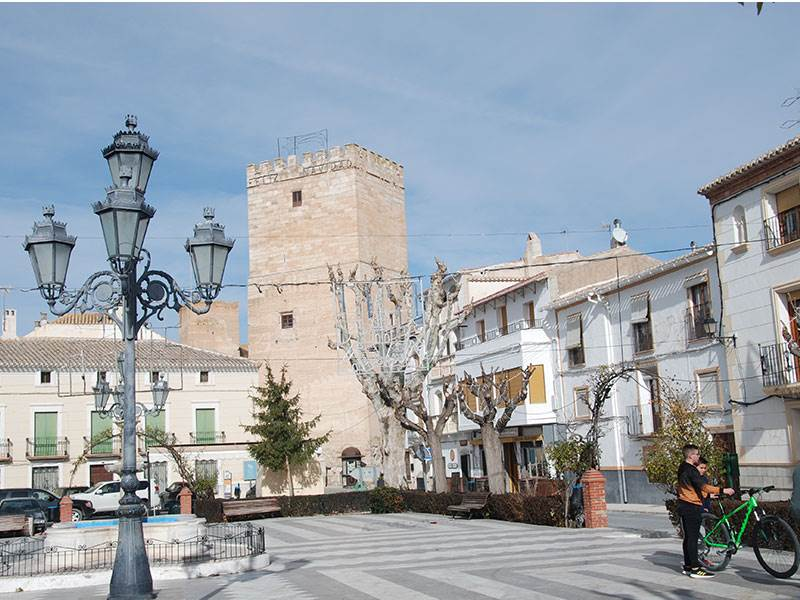 Orce main square