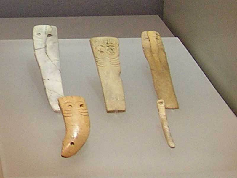 Incised ivory from the Maghreb found at Los Millares – Almeria Museum