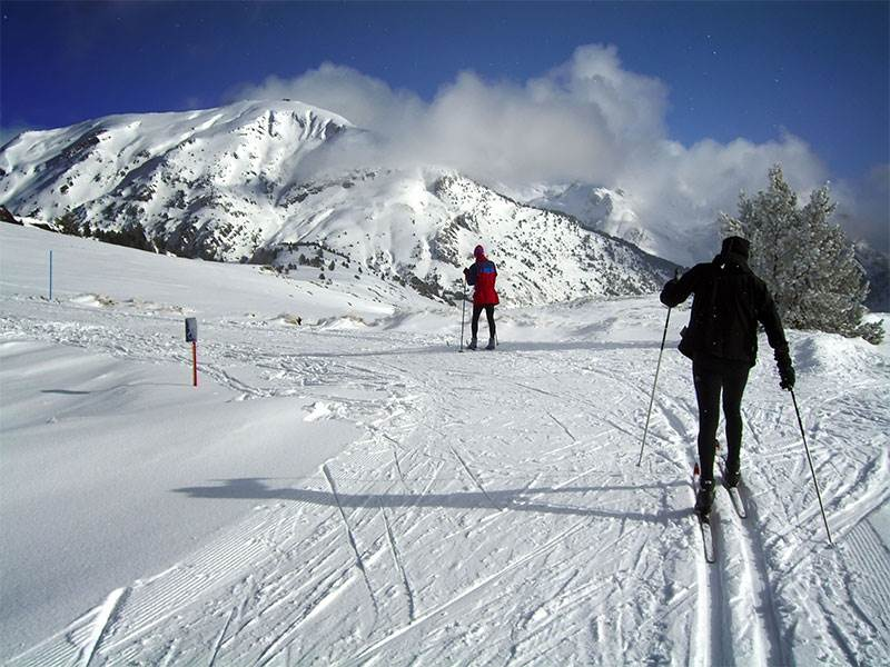 Guided Skiing Routes