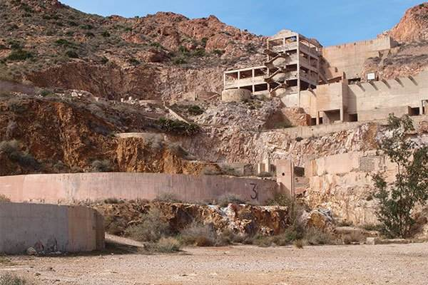 Rodalquilar, a gold mine in Almeria
