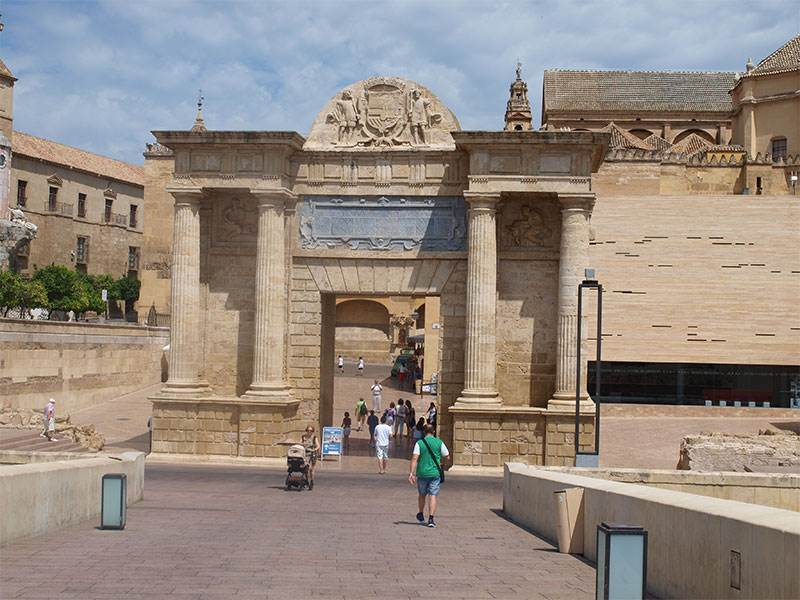 Roman gate at Cordoba