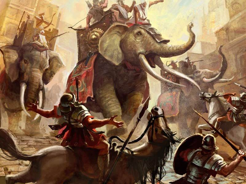 Hannibal and his elephants