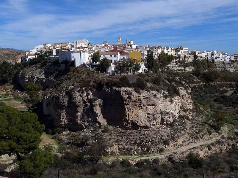Towns and villages in Andalucia