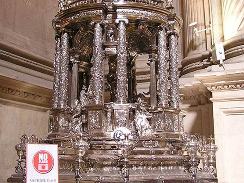Silver in Seville Cathedral