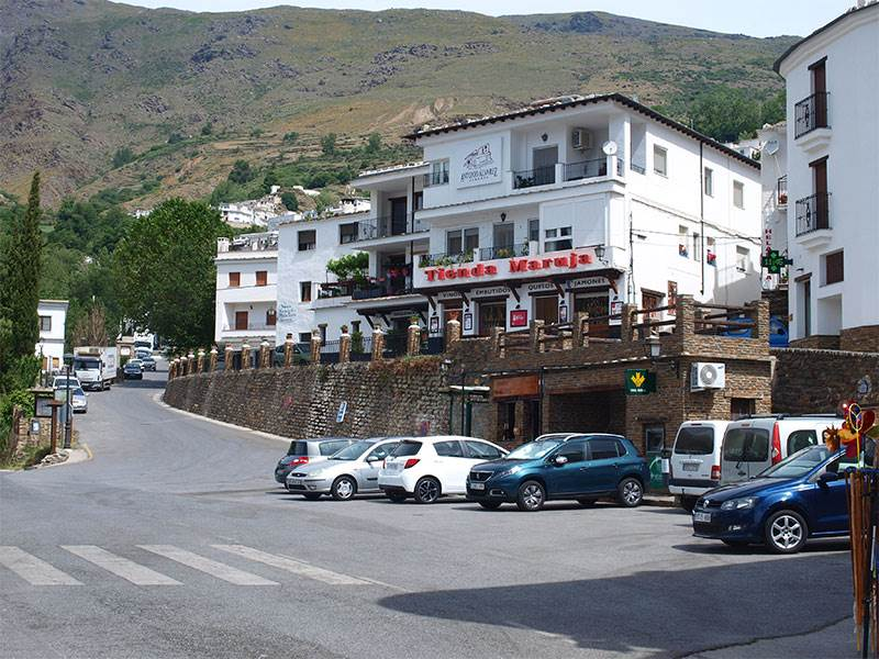 Guide to Trevelez in the Alpujarras, famous for Jamon Serrano