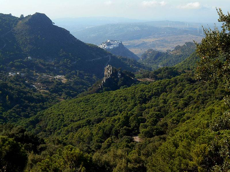 Casares from near the refugio
